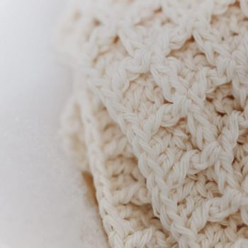 Handmade Cotton Wash Cloths for Charity