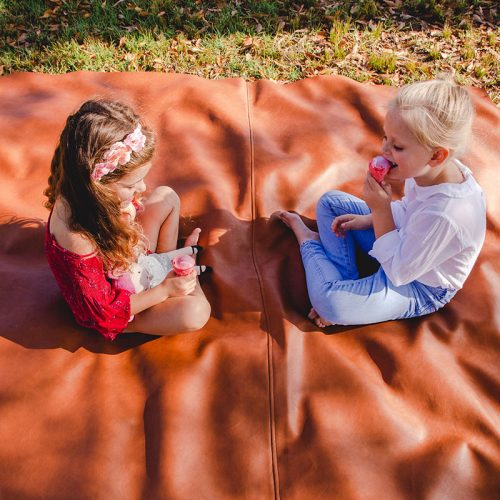 Handmade Leather Products Picnic Mats