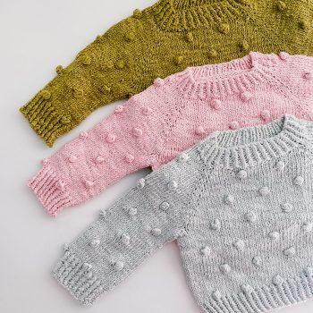 Bobble Wool Baby Jersey